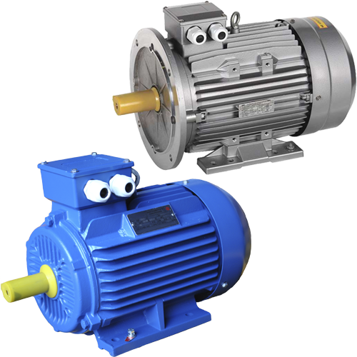 Общепромышленные асинхронные электродвигатели