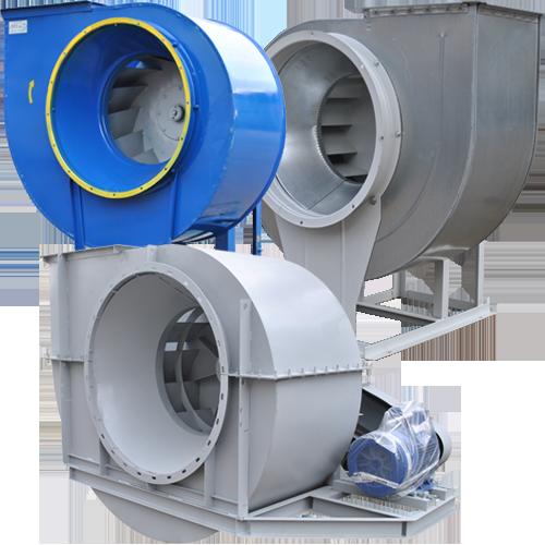Радиальные центробежные вентиляторы низкого давления