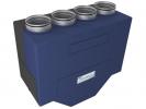 Приточно-вытяжные установки с электрическим нагревателем с пластинчатым энтальпийным рекуператором Breezart LUX RE