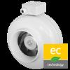 Круглые канальные вентиляторы Ruck RS EC