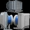 Водяные воздушно-отопительные агрегаты СТД