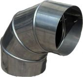 Отводы для круглых воздуховодов