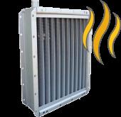 Паровые стальные пластинчатые калориферы/воздухонагреватели