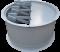 Обратные клапаны для монтажных стаканов осевых вентиляторов СТМ ОСВ