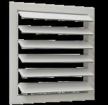 Инерционные решетки для прямоугольных воздуховодов
