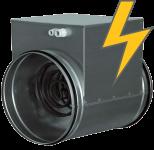 Электрические канальные нагреватели для круглых воздуховодов