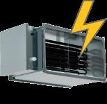 Электрические канальные нагреватели для прямоугольных воздуховодов