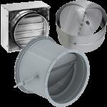 Обратные клапаны для круглых воздуховодов