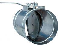 Клапаны для круглых воздуховодов
