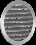Круглые наружные решетки