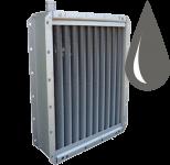 Водяные стальные оребрённые калориферы
