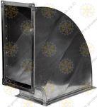 Отводы вентиляционные для прямоугольных воздуховодов