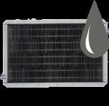 Водяные стальные пластинчатые калориферы