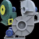 Радиальные центробежные вентиляторы высокого давления