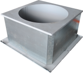 Утеплённые монтажные стаканы для осевых вентиляторов с уклоном СТМ 210 ОСВ