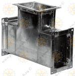 Тройники вентиляционные для прямоугольных воздуховодов