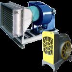 Воздухонагревательные установки (электрические воздушно-отопительные агрегаты)