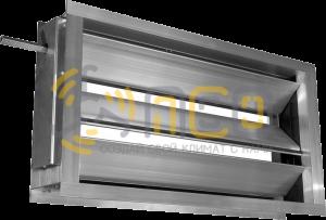 Воздушные клапаны и заслонки для прямоугольных воздуховодов