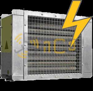 Электрические промышленные калориферы / воздухонагреватели
