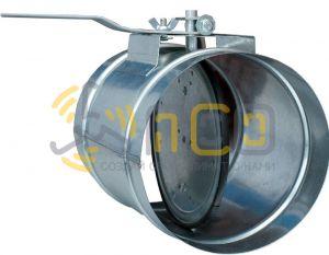Воздушные клапаны и заслонки для круглых воздуховодов