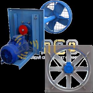 Осевые вентиляторы для сушильных камер древесины