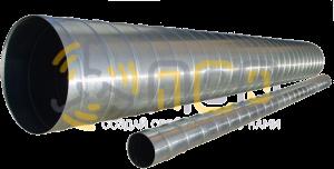 Круглые спирально-навивные воздуховоды