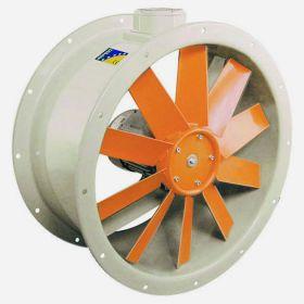 Взрывозащищенные осевые фланцевые вентиляторы SODECA HCT/ATEX