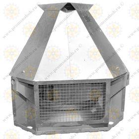 Крышные вентиляторы дымоудаления ВКРСм ДУ (с выбросом в сторону)