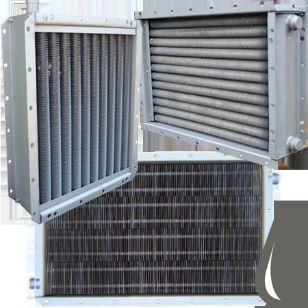 Водяные воздухонагреватели / калориферы